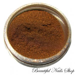 Acrylic Powder - Brown Metalic 4g /130/